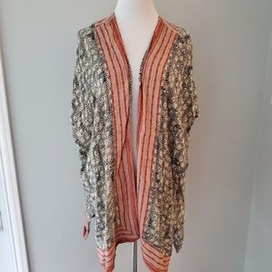 Anthropologie Short Sleeve Shawl